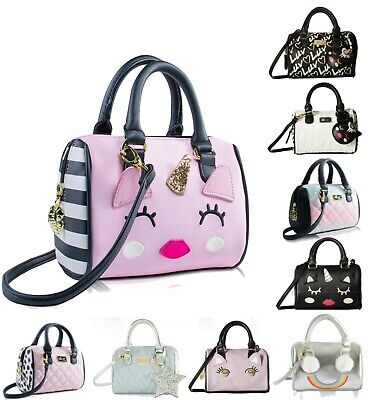 NWT BETSEY JOHNSON Kitsch Dottie Mini Satchel Bag LIMITED EDITION