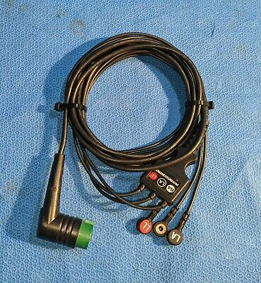 Physio Control Lifepak 20e 3-lead Ecg Cable 3006218-02