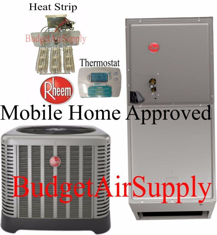 Rheem 3.5 Ton 14 Seer Heat Pump Split System Rp1442aj1 Mobile Home Approved