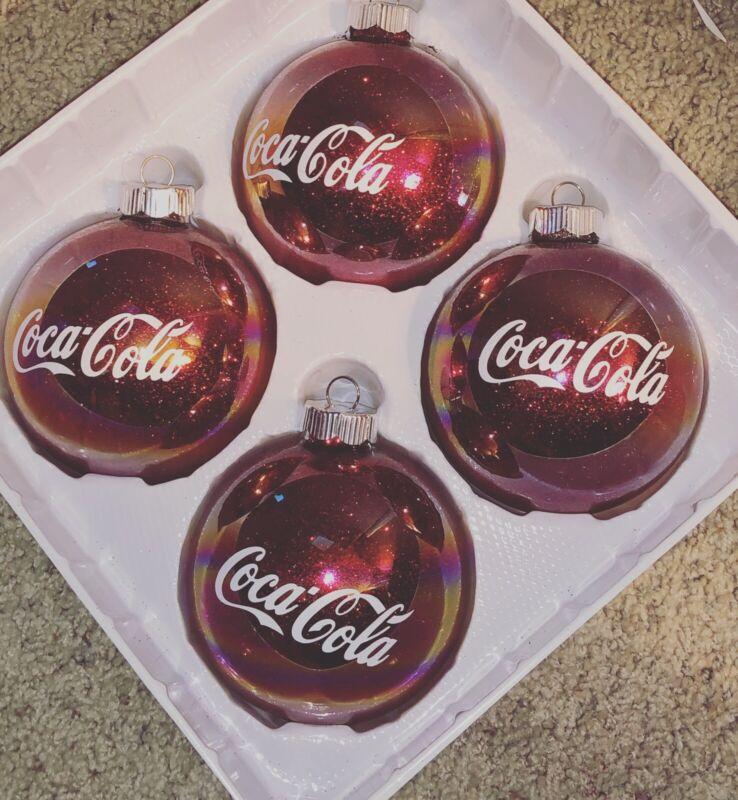 Coke Cola Christmas Ornaments