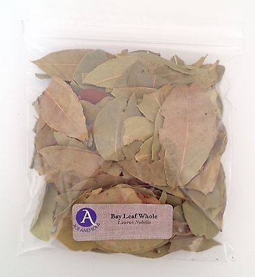 1 oz.  Bay Leaf Whole (Laurus Nobilis) <28 g / .063 lb> Dried (Whole Bay Leaf)