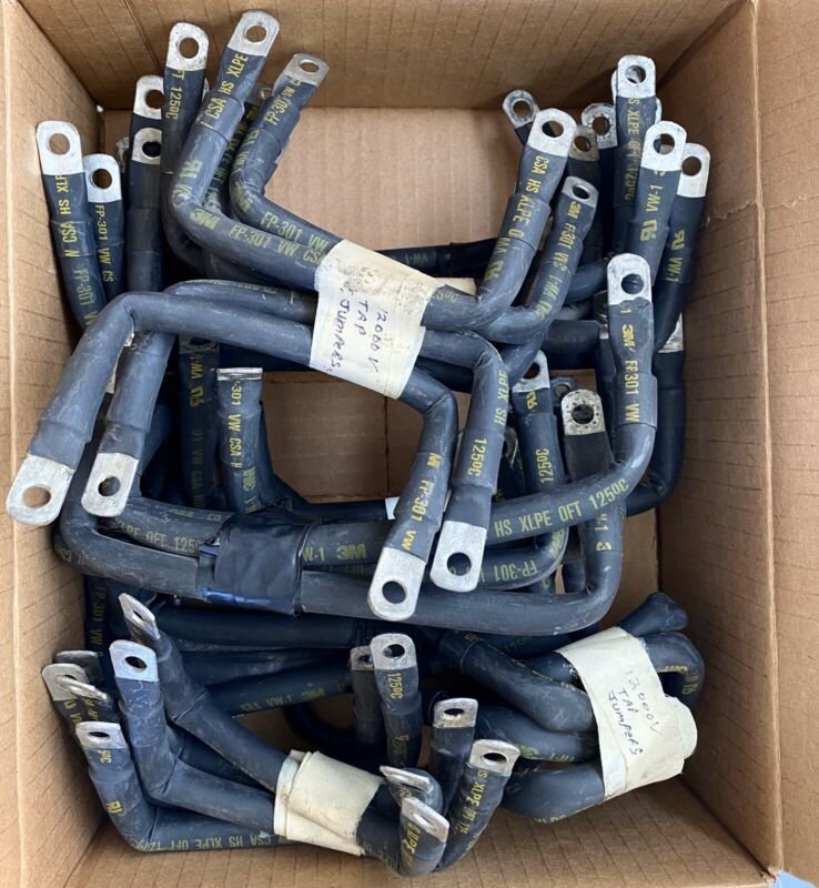 (Lot Of 40) 3M 12,000V Tap Jumpers