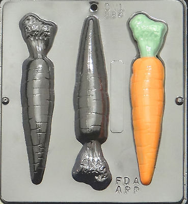 Carrots Chocolate Candy Mold Easter  886 (Carrots Candy)
