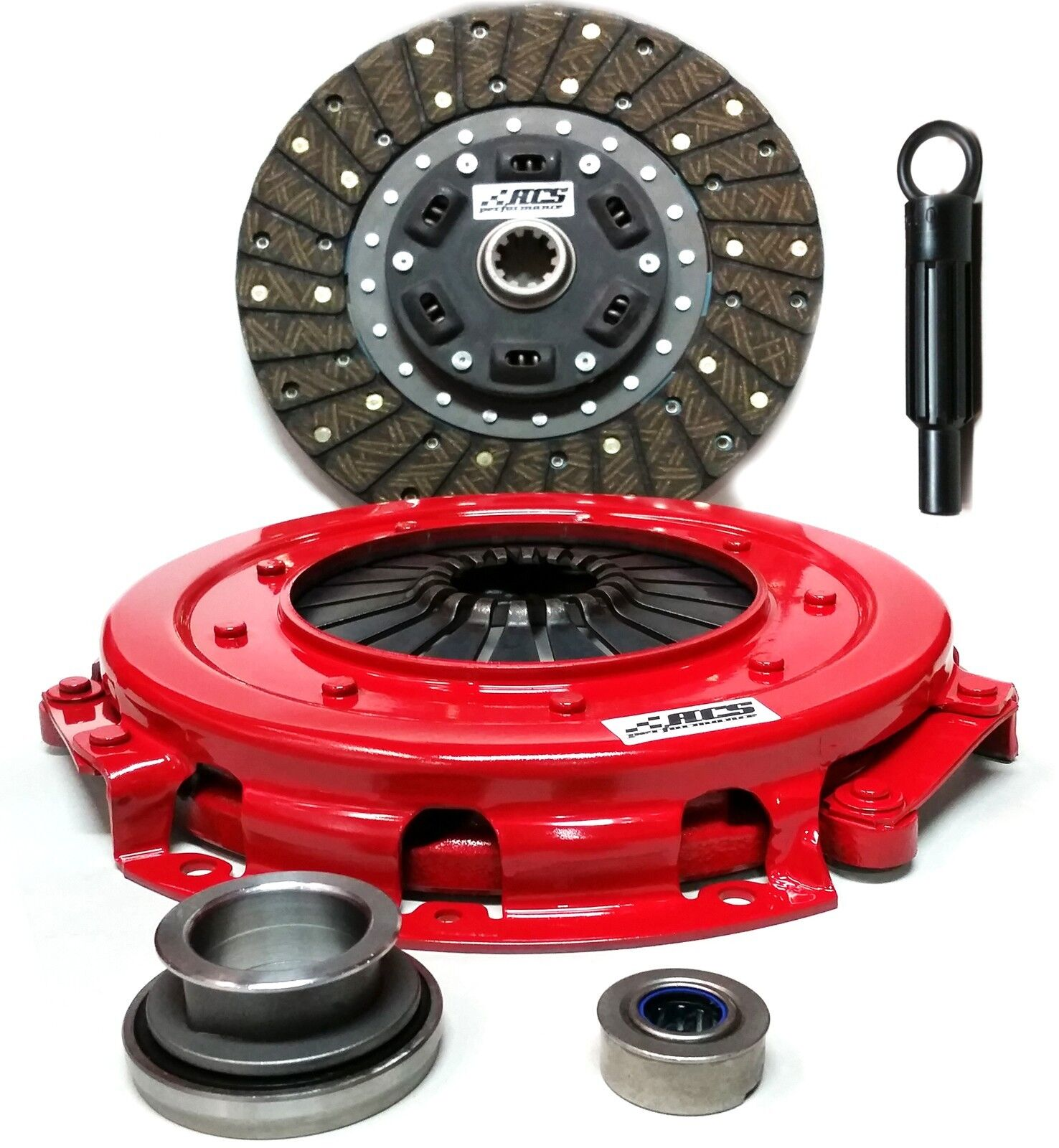 Stage 1 Clutch Kit Set Works With Ford Mustang Gt Lx Cobra Svt 1986-2000 4.6L V8 GAS DOHC 4.6L V8 GAS SOHC 5.0L V8 GAS OHV Naturally Aspirated