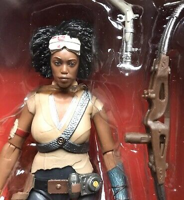 Star Wars Black Series 6 Inch Scale Figure #98 Jannah - The Rise Of Skywalker