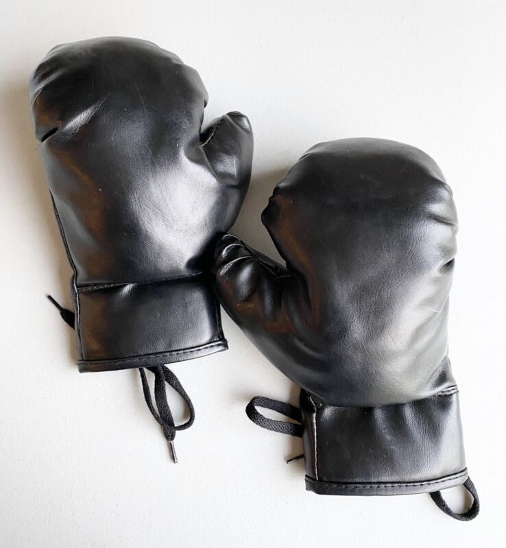 Youth Child Kids Boxing Gloves Halloween Costume Pretend Play
