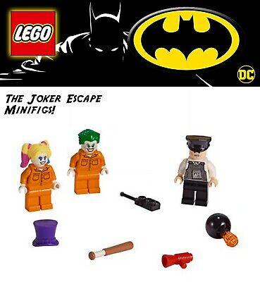 Lego DC Batman 76138 Batman and the Joker Escape Minifigs ONLY! Harley Quinn