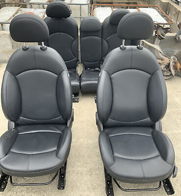 BMW MINI R60 COUNTRYMAN FULL BLACK LEATHER SEATS INTERIOR