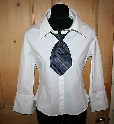 NEW Italian Designer LEONARDO MILANO Pure Silk Ladies Formal Tie (6S)