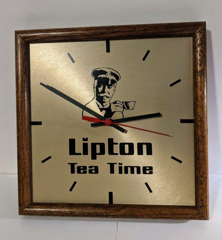 Vintage Lipton Tea Time Clock