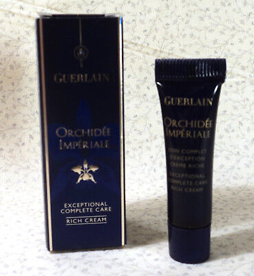 GUERLAIN ORCHIDEE IMPERIALE EXCEPTIONAL COMPLETE CARE RICH CREAM  .1 oz. - (Orchidee Imperiale Rich Cream)
