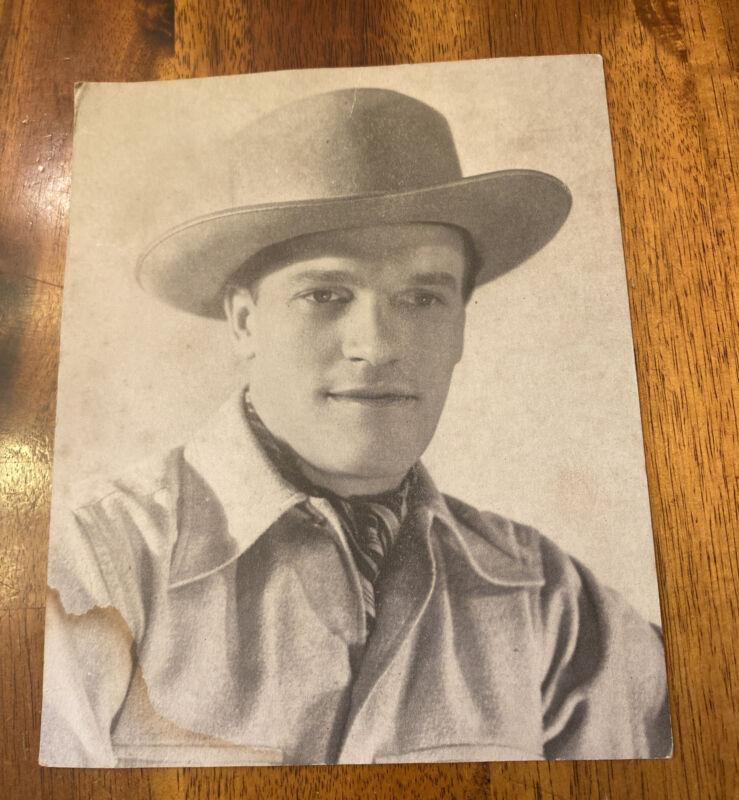 Vintage EDDY ARNOLD  PUBLICITY PHOTO GRAND OLE OPRY Circa 1943