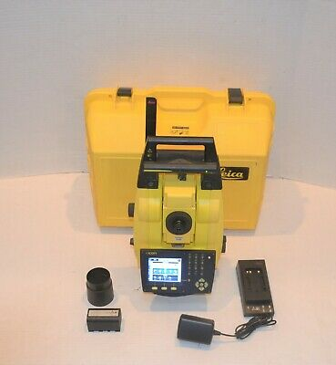 Leica Icon Icr62 Robotic Total Station R1000 Pin Point 60 Bluetooth