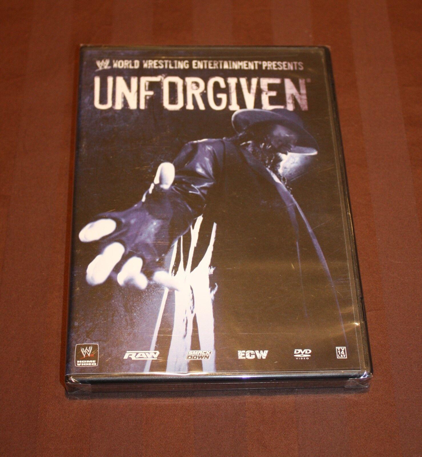 WWE - Unforgiven 2007 DVD, 2007 BRAND NEW RARE - $37.81
