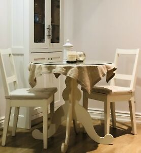 2 Seat dinning table with chairs
