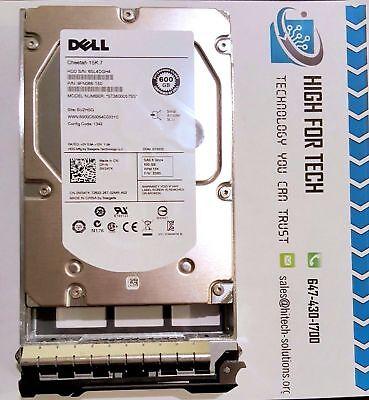 "W347K 0W347K DELL 600GB 15K ST3600057SS FN066-150  6Gbps SAS 3.5"" HDD W/TRAY"