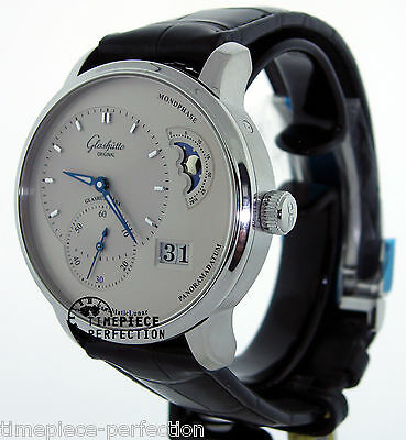 Glashutte Original PanoMaticLunar 90-02-42-32-05 Silver Mens Watch