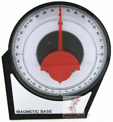 Angle Locator Finder Magnetic Base Level Construction 0 - 90 Degrees Reading