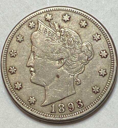 1893 Liberty V Nickel Love Token (Miss Ross)