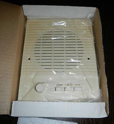 Vintage 1990s Fasco Indoor Room Speaker Intercom Model FS5LI Ivory