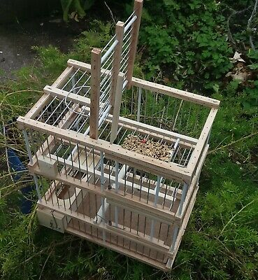 Jaula con una trampa // Atrapa pájaros // Sistema de desarmado experto