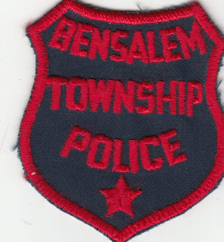 BENSALEM TOWNSHIP POLICE PATCH PENNSYLVANIA PA (OLDER)