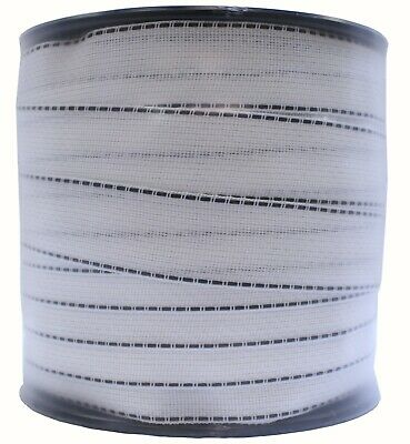 White Polytape 2 X 492 Electric Fence Tape