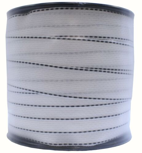 """White Polytape 2"""" x 492' Electric Fence Tape"""