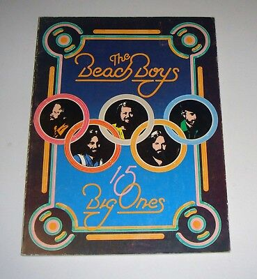 The Beach Boys 15 Big Ones Songbook 1976 64 pages Free Shipping