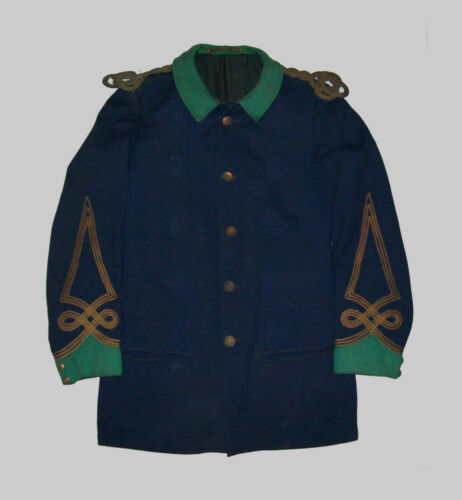 Old Antique Vtg C 1900s Odd Fellows IOOF Musican Band Fraternal Tunic Jacket