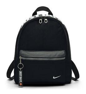 2e549324a20 Nike Just Do It Backpack for Kids - Black   eBay