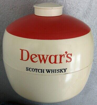 VINTAGE DEWAR'S Scotch Whisky Ice Bucket