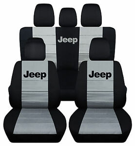 2011-2016JEEP WRANGLER 4DR CAR SEAT COVERS front&back ,CHOOSE YOUR COLOR!!!
