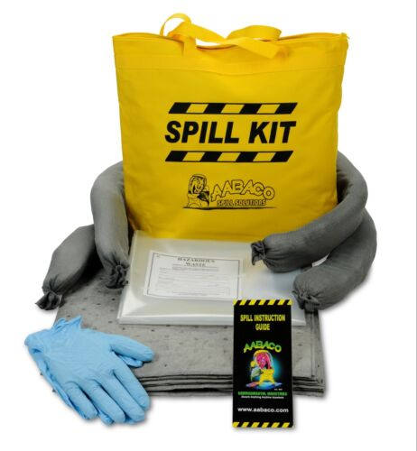 Universal Spill KIT Yellow Perfect Spill Kits for Trucks - Chemical or Oil