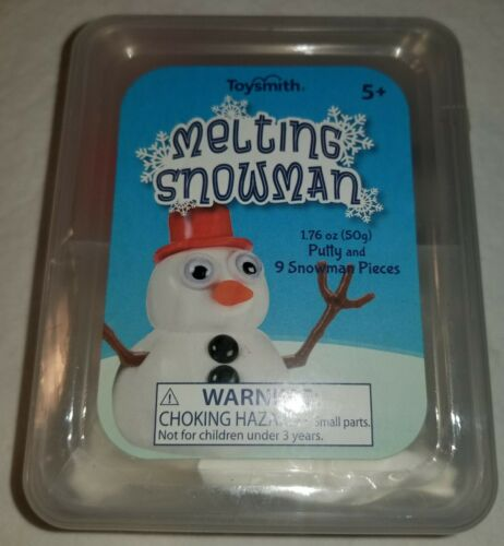 Toysmith Melting Snowman Putty With Nine Snowman Pieces 50g of Putty FREE SHIP!!