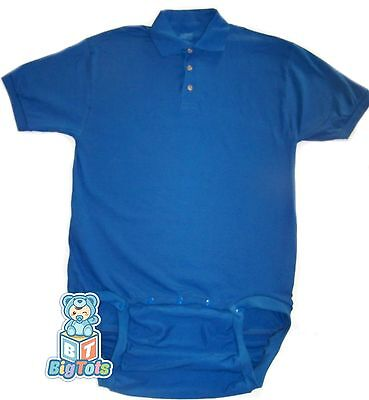 Big Tots  5 Colors  Polo Wear2work Adult  Bodysuit  Baby Type