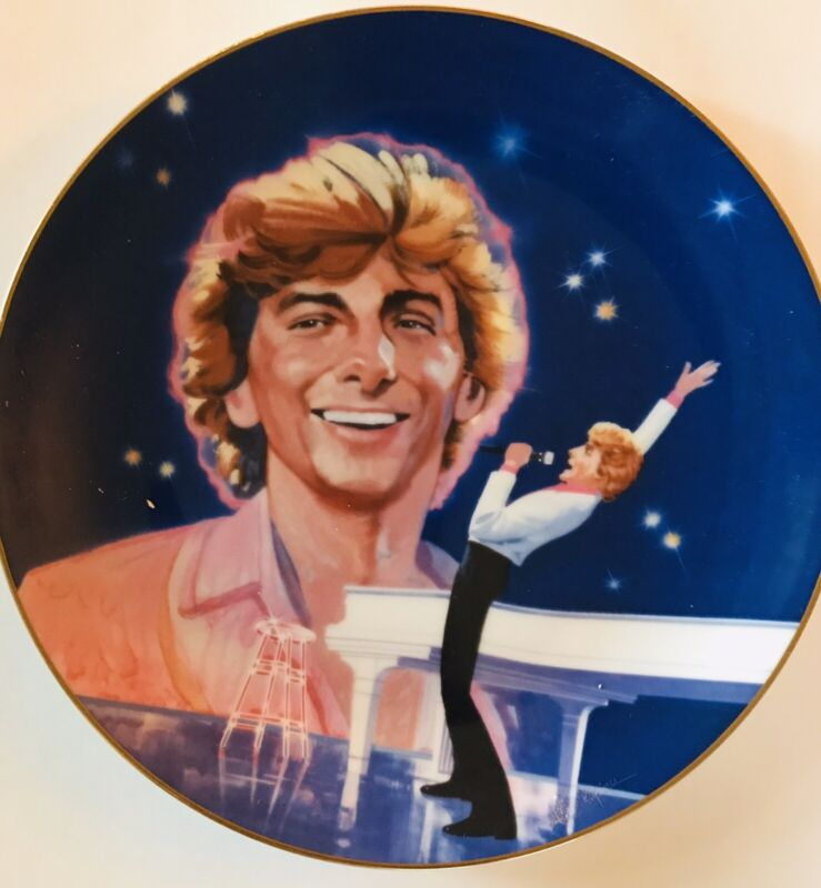 Barry Manilow Copacabana 1984 The Heirloom Tradition Collector's Plate H1000