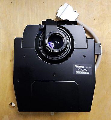 Nikon Microscope Automated Universal Dic Condenser V-cau For E1000