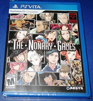 Zero Escape  The Nonary Games Playstation Vita  Brand New   Free Shipping