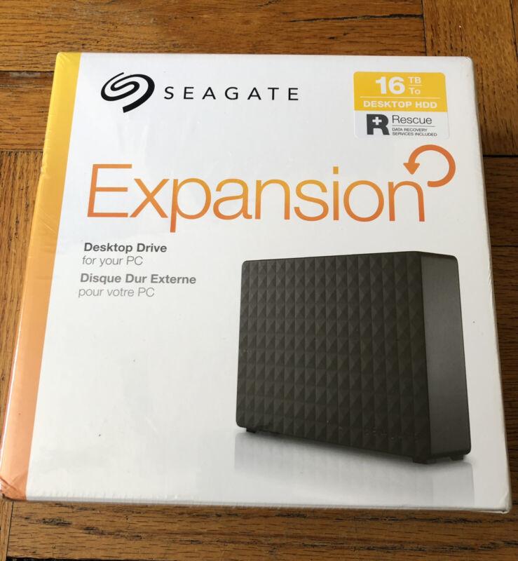 Seagate Expansion Desktop 16TB External Hard Drive HDD USB 3.0 (STEB16000402)