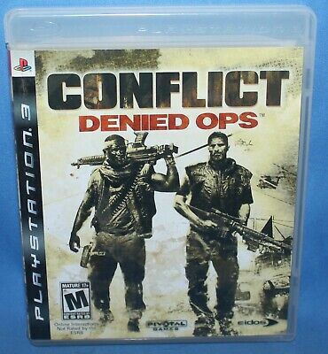 Used, Conflict: Denied Ops (Sony PlayStation 3, 2008) for sale  Shipping to Nigeria