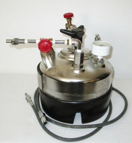 Alloy Products Millipore XX6700L05 High Pressure 5 Liter Vessel