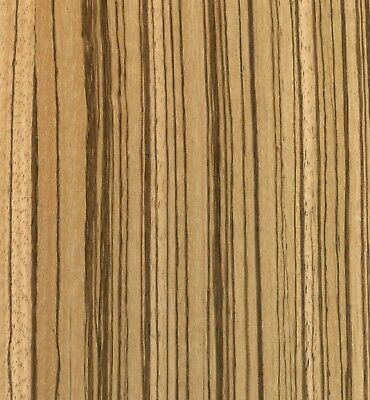Exotic Zebrawood Sequenced Matched Veneer Unbacked 3 Sq. Ft 5.5 - 7.5 X 12