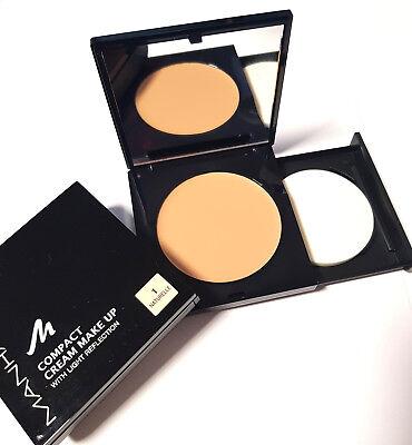 Manhattan Compact Cream Make Up Licht Reflection Foundation 1 Naturelle