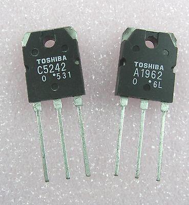 Transistorpower 2sa1962 A1962 2sc5242 C5242 1 Pair 1 Each