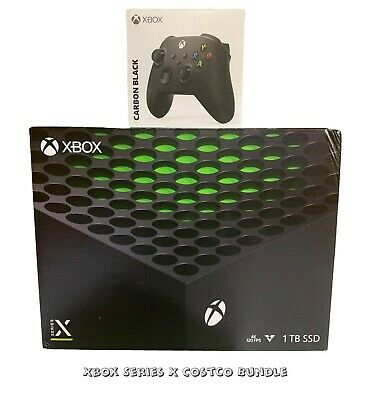 Microsoft Xbox Series X Console Costco Bundle Brand New in hand