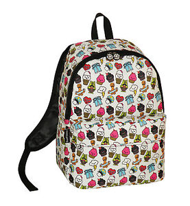 DAVID AND GOLIATH - AND PALS SCHOOL BACKPACK - WHITE/MULTI