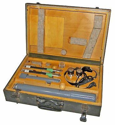 Rare60s Cold War Frieseke Hoepfner Fh 40 Geiger Counterradiation Metertested