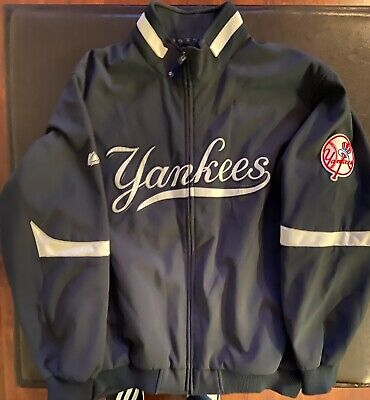 Majestic Authentic New York Yankees Therma Base Home Jacket XXL 2XL MLB