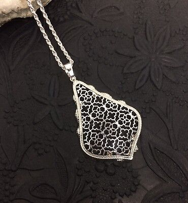 Kendra & Chloe Design By Diane Scott Filigree Pendant Necklace (Dianes Pendant)